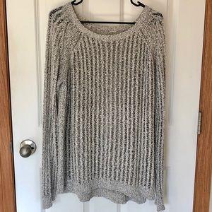 Lou & Grey Open Weave Sweater
